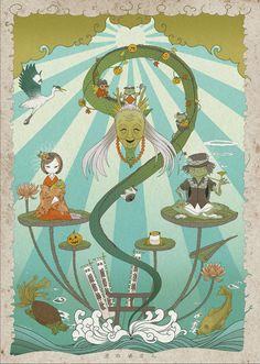 「東京モノノケ」2014 沼の婆さん