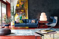 Designer to know: Patrizia Moroso: Italian brand Moroso continues to defy the odds, masterminded by a true force of nature in Patrizia Moroso.