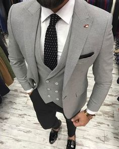 Best of Mens Fashion Classy Gentleman Style The Suits, Suit And Tie, Grad Suits, Trendy Mens Fashion, Mens Fashion Suits, Urban Fashion, Fashion Shirts, Cheap Fashion, Man Stuff
