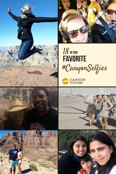 15 of our Favorite - Canyon Tours Visiting The Grand Canyon, Don't Forget, Tours, Selfie, Adventure, Places, Check, Blog, Movie Posters