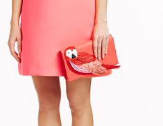 Kate Spade's Pre-Fall 2016 Bags are Just as Cute as We've Come to Expect | parrot clutch
