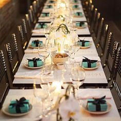 Dinner ready...| for more @ralucavision | courtesy of @tiffanyandco