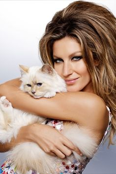 gisele bundchen vogue brazil december 2014 Gisele Bundchen + Choupette Lagerfeld Cover Vogue Brazil December 2014