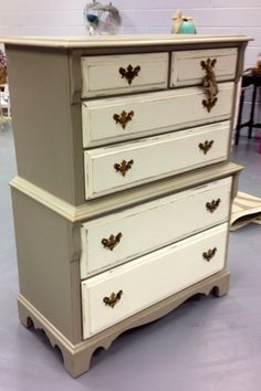 Taupe and Cream chest!!!
