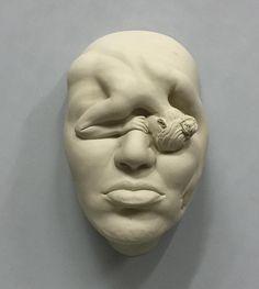Lucid Dream - 9 (Work in progress) Porcelain 2016 #JohnsonTsang #ceramics #sculpture #art