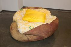 Baked potato pouf!!
