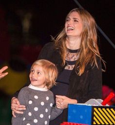 stana katic and her niece in legoland