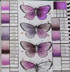 Copic Colour Combinations