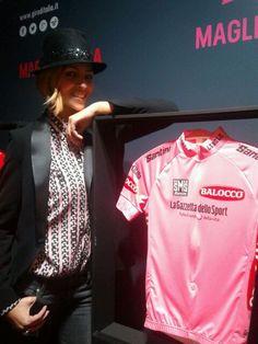 4cc24694b Giro d Italia  giroditalia The new Madrina of the Giro d Italia is
