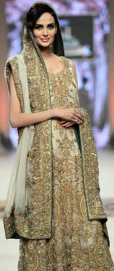 Ammar Shahid #TBCW 2014 Salvation Collection #BridalDresses #PakistaniDresses