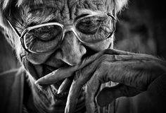 Wonderful old lady