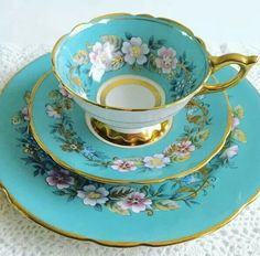 Beautiful Aqua China.