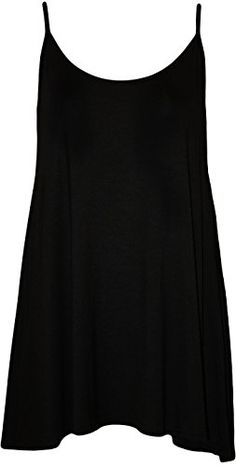 WearAll Plus Size Women's Strappy Swing Vest Top - Black - US 16-18 (UK 20-22) WearAll http://www.amazon.com/dp/B00JMHRZGE/ref=cm_sw_r_pi_dp_eV4Avb1Q8VNTJ