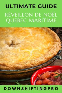 Reveillon de Noel in Quebec Maritime @DownshiftingPRO Quebec, Holiday Recipes, Great Recipes, My Favorite Food, Favorite Recipes, Pickled Beets, Pastry Shells, Sugar Pie, Yule Log