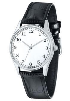 Lübeck - Logowatch - Werbeuhren mit Logo #watch #branding #germany #custom #promotion #gift #giveaway #b2b #wristwatch #black #leather #wrist