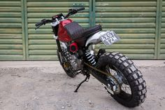 Honda 650 by Kevils Moto Very Beauty Scrambler