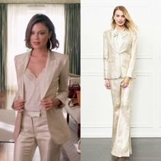 Dynasty Closet is dedicated to finding the clothes, jewelry, accessories & shoes worn on The CW's Dynasty. Costume design by Meredith. Fashion Tv, Fashion 2017, Look Fashion, Urban Fashion, Fashion Outfits, Fashion Edgy, Fashion Women, High Fashion, Classy Outfits