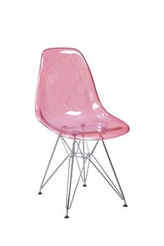 Donald Chair - Clear Pink / PANGEA Children's Furniture