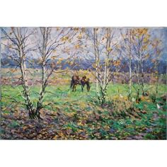 Russian Painting *Autumn Day* Barhatkov