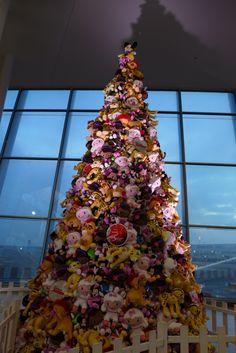 Xmas tree of wonders Brussels, December, 2016
