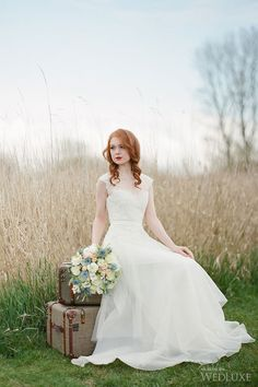 WedLuxe – Anne of Green Gables | Photography by: Ken Tan Photo Follow @WedLuxe for more wedding inspiration!