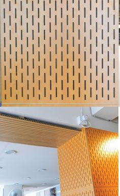 """ACOUSTIC PANEL Standard size:  2'X 2' ;  6"""" X 9'-6"""" Material: MDF Unit cost: 500 TK ; 350 TK PER SFT Manufacturer & Vendor: China / Pacific one stop interior solution Application: Interior walls mainly for acoustic insulation Installation process: Screwing on frame"""