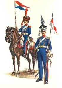 Le 8éme régiment de Ulhan - 1er Empire et Nos Polonais lancier à cheval compagnie d élite et lancier ordinaire