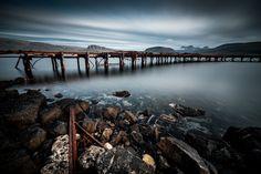 hvalfjordur rusty rails... #iceland #hvalfjordur #rustyrails #fafiebig