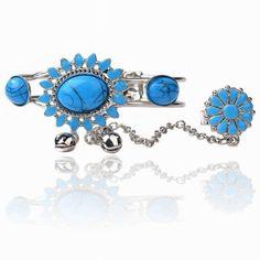 Turquoise Blue Slave  Bracelet / Ring - $10