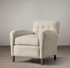 Hyde Upholstered Club Chair