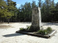 3/23/13 - The Carranza Memorial in the pinelands of Tabernacle, NJ.
