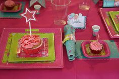 For an American Girl party...a cupcake for the doll and for the birthday guest!
