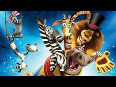 Animation Movies Full Length Of Disney Movies Cartoon for kids♥ Madagascar 3: Europe's Most Wanted - YouTube