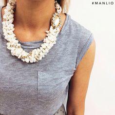 Collana Dolman #manlioboutique  Per spedizioni  WhatsApp 329.0010906 #collana #dolmanbijoux #necklace #jewels
