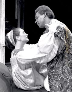 Othello - 1990 Dance Department, Festival One, Shakespeare Festival, Othello, Drama, Actors, Statue, Black People, Actor