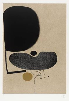 Victor Pasmore: Points of Contact No. 22, 1974.  Edwin John Victor Pasmore (1908  1998) was a British artist and architect. He pioneered the development of abstract art in Britain in the 1940s and 1950s.
