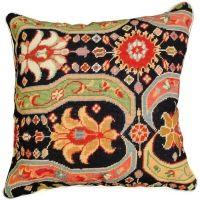 Needlepoint Afshar II Pillow