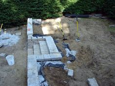 DIY: How to build a retaining wall- another great step by step