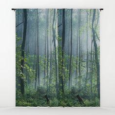 Enchanted Woodland Window Curtains