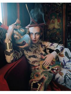 Karen Elson in Vogue UK May 2015 by Tim Walker