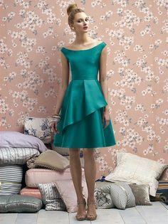 Lela Rose Bridesmaids Style LR176 http://www.dessy.com/dresses/lelarose/lr176/?color=american%20beauty=242#.UiUdKKC9KK0
