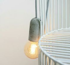Nud lamp concrete 55 euro