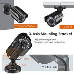 Check Out This Nice Security Device for Your Home or Business - ZOSI 4 Pack Bullet Fake Securtiy Camera with Red Light,Dummy Surveillance Camera Outdoor Indoor Use,Wireless Simulate Cameras for Home Security Security Surveillance, Security Alarm, Surveillance System, Safety And Security, Security Service, Video Security System, Home Security Tips, Wireless Home Security Systems