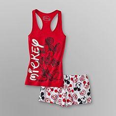 Disney Mickey Mouse Womens Pajamas