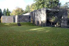 Arkitekt Knud Holschers hus