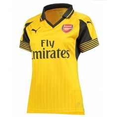 Official Arsenal Puma Womens Ladies Football Soccer Away Shirt Jersey Top Arsenal Fc, Arsenal Shirt, Arsenal Ladies, Football Soccer, Football Shirts, Soccer Jerseys, Premier League, Matching Shirts, Shirt Shop