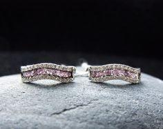 #14k #gold #diamonds #sapphires #earrings #finejewelry #sapphire #diamond…