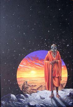 Monk on the moon - Imgur