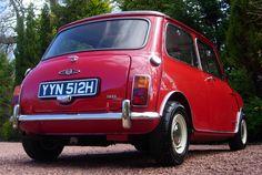 Mini Cooper S MK2 Classic Mini, Classic Cars, Red Mini Cooper, Mini Clubman, Fiat 500, Mk1, Minis, British, Mini Stuff
