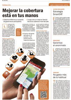 Artículo sobre Mayor Cobertura Móvil. La Vanguardia. Cristina Catalán